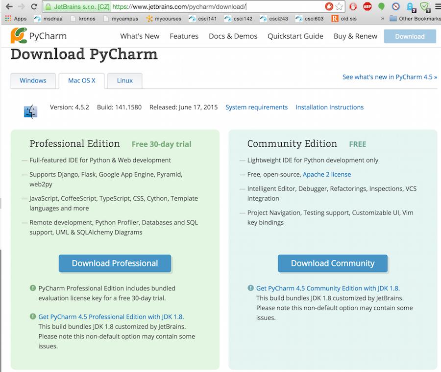 Python and PyCharm Setup/Tutorial